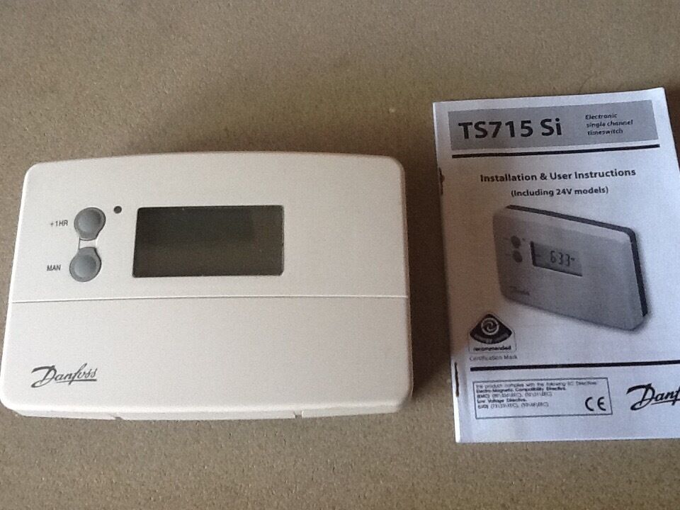 Danfoss Programmer Time Switch Model Ts15si With