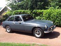 Classic Car MGB GT 1972