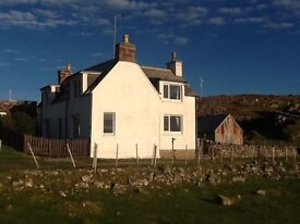 4 bedroom detached house STOER, Sutherland