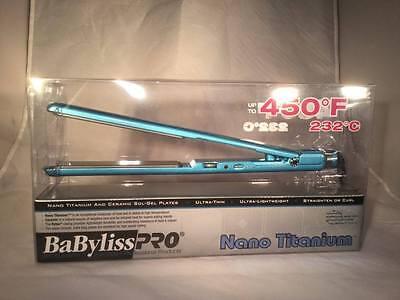BaByliss Pro Nano Titanium 1-inch Flat Iron Straightener 3072C - BRAND NEW