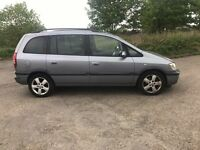 2005 VAUXHALL ZAFIRA 2.0 DTI 7 SEATER GOOD SPEC