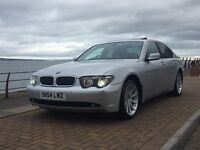 2004 BMW 7 SERIES AUTO SILVER MASSIVE SPEC / BMW 735 730 745 750