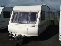 1994 Bailey pageant magenta 2 berth end changing room