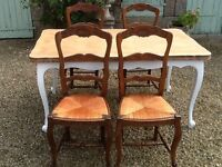 Vintage French Dinning chairs