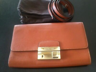 NEW Michael Kors Orange Wallet/Mini Handbag