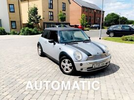 image for AUTOMATIC Mini Cooper 1.5L 2005 lady owner 1-years mot drive away bargain px swap wel