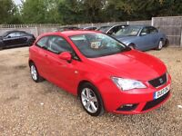 2013 SEAT IBIZA 1.4 TOCA PETROL SAT NAV 1 OWNER FROM NEW