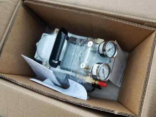 New-In-Box GAST DAA-V715-EB High Capacity Vacuum Pump With Gauge & Regulator
