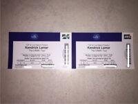 KENDRICK LAMAR The Damn. Tour O2 12th February