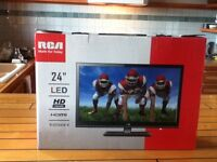 24 inch LED flat screen TV
