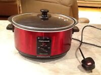 Morphsy Richards Slow Cooker