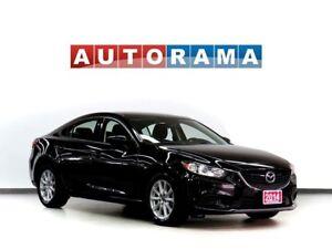 2014 Mazda MAZDA6 NAVIGATION LEATHER SUNROOF BACKUP CAM ALLOYS