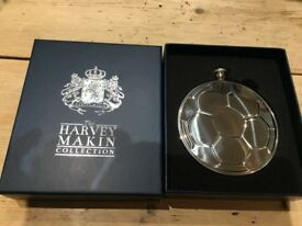 Stainless Steel 5oz Football Hip Flask