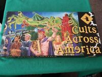 Cults Across America Board Game - Good condition - Hard to find