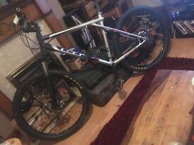 Get mountain bike