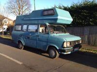 Ford transit 1985 MK2 VERY RARE 100L LWB Motor caravan 2.5 Di