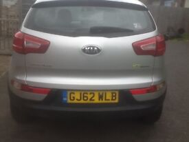 2012 Kia Sportage for sale, excellent condition. 1 owner from new
