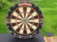 WINMAU ANDY FORDHAM THE VIKING DARTBOARD