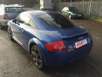 Audi TT 1.8 turbo Quattro (180 BHP) BLUE