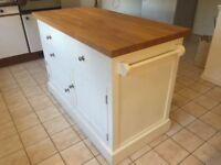 Solid Oak Kitchen Island Sideboard