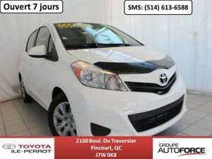 2013 Toyota Yaris LE, 5 PORTES, A/C, GR ÉLEC, BLUETOOTH CHEAP TO