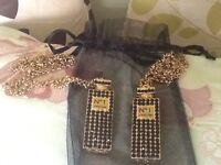 2 new necklaces and little bag 2 for £15