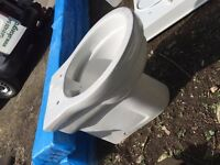 Unused Complete Toilet basin and cistern