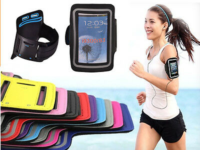SPORT ARMBAND SMARTPHONE HANDY CASE TASCHE JOGGING COVER Für Samsung Galaxy A9S  Armband Case Cover