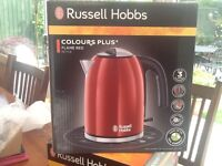 Russel Hobbs New Boxed Flame red kettle 1.7 Lt