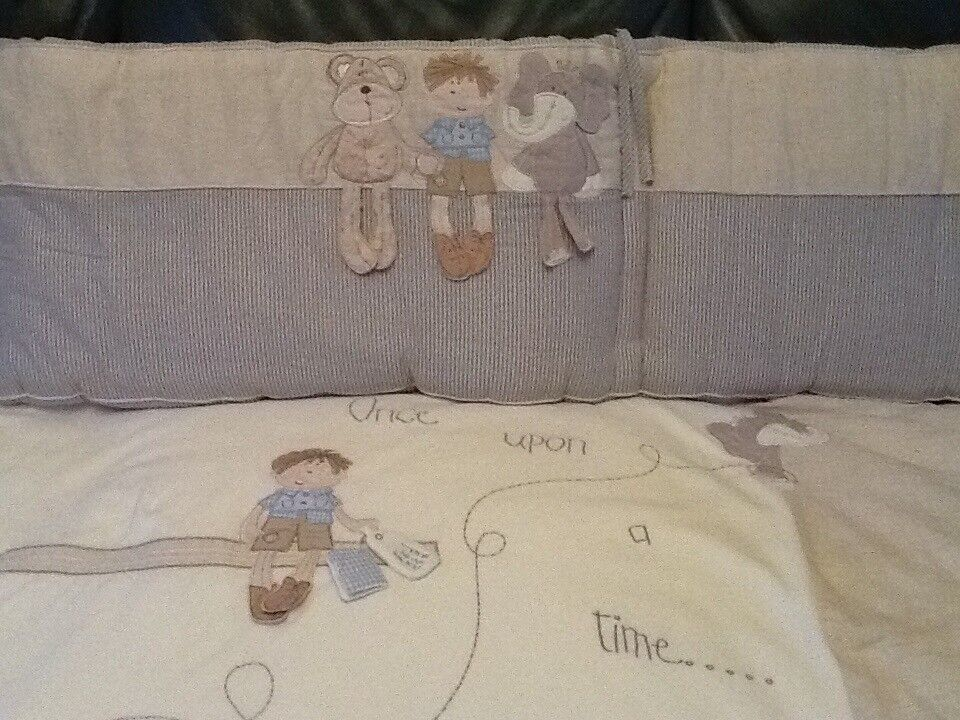 Mamas & Papas Once Upon a Time Nursery Bedding and Accessories Set for Boys - £40.00