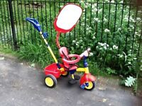 Small child's toy tricycle