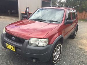 Ford Escape 2002 4x4 North Adelaide Adelaide City Preview