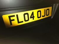 FL04OJO PRIVATE PLATE FOR SALE FLO? Jo? £100