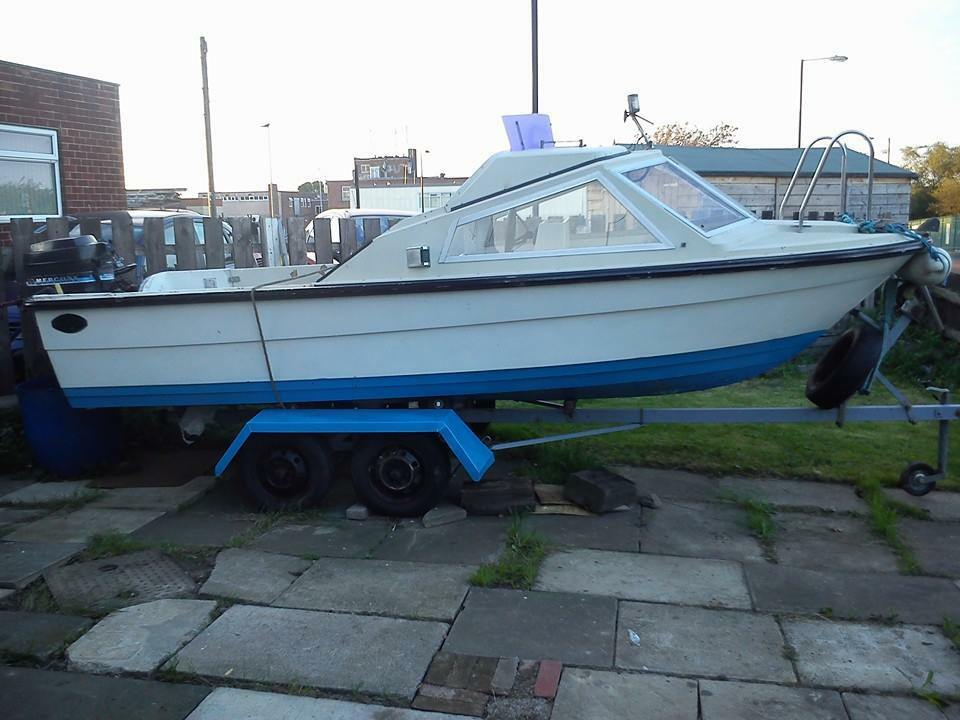 16 ft fishing boat for sale in newcastle tyne and wear for Jet fishing boats for sale