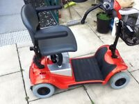 KYMCO MINI LS FOR-U FITS IN BOOT OF CAR MOBILITY SCOOTER