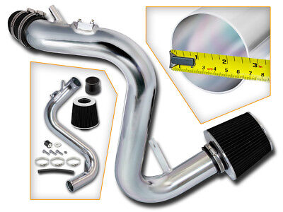 BCP BLK For 07-13 Mazdaspeed 3 2.3 2.3L Turbo Cold Air Racing Intake +Filter