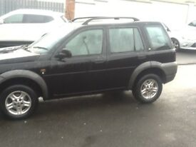 Freelander has 1 month mot just took off the road on Friday driving 100/% 2002