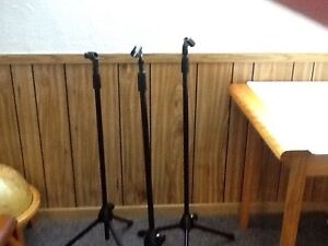Professional grade microphone stands