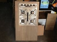 Gas hob and grill for campervan or caravan