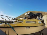Boat shetland 570
