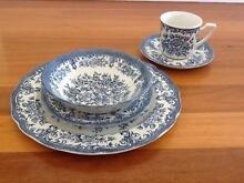 """Royal Staffordshire Blue """"Avondale"""" Dinnerset (Incomplete) Taren Point Sutherland Area Preview"""