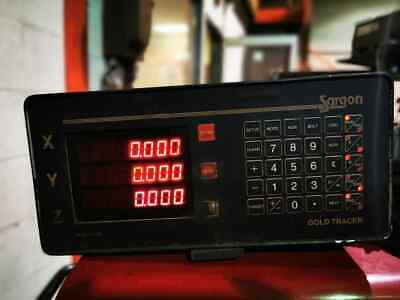 Digital Readout Sargon Gold Tracer X And Y Digital Lathe