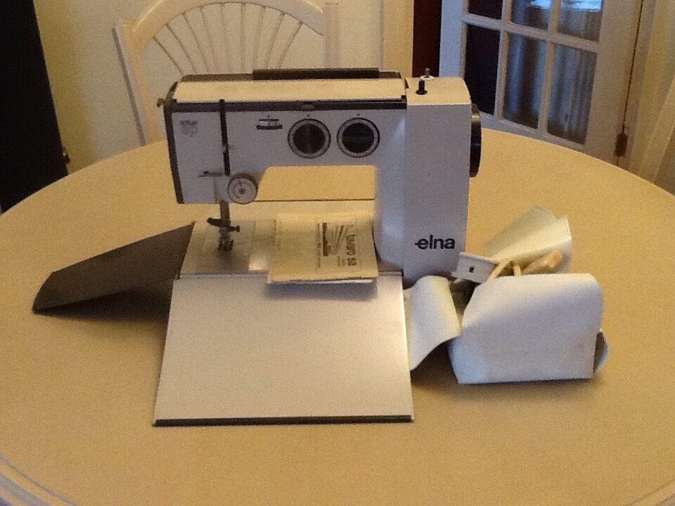 Elna Lotus Portable Sewing Machine In Bournemouth Dorset Gumtree Simple Elna Lotus Sp Portable Sewing Machine