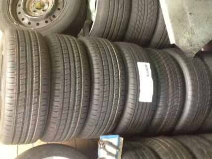 Falcon BA/BF 16inch standard rims with Brand new tyres