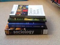 Sociology Books. Undergraduate level. Marx, Weber, Durkheim. Morrison