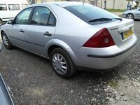 2002 ford mondeo 1.8 lx ***4 brand NEW TYRES*** Looks good , drives good***