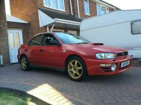 Subrau impreza 2000 UK turbo