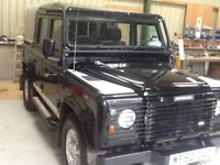 Land Rover Defender 110 TD5 Double Cab PickUp. Black LE Limited edition, one of 150 made.