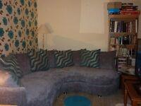 Harveys Large Curved Corner Sofa