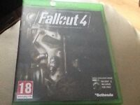 Fallout 4 game for Xbox one